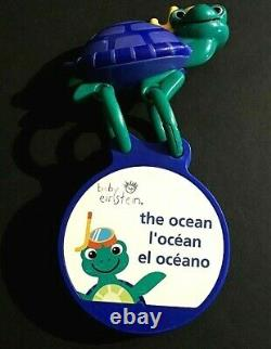 Toddler Rare Baby Einstein The Ocean Flip Book Cards Traveling Discovery Sea