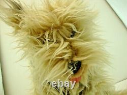 Vintage 1980's Rare Back to the Future Einstein Soft Fluffy Plush Dog 15