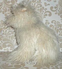 Vintage 1980's Rare Back to the Future Einstein Soft Fluffy Plush Dog 15 C2