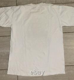 Vintage Albert Einstein Relativity Humor Single Stitch T Shirt All Sport USA L