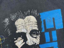 Vintage Albert Einstein Shirt 90s Science Imagination V15