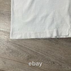 Vintage Andazia Albert Einstein T-Shirt All Over Stonehenge Mens Size XL White