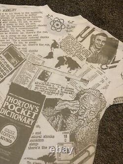 Vintage Rose Hulman Engineers All Over Print Einstein Mr. Rogers Education