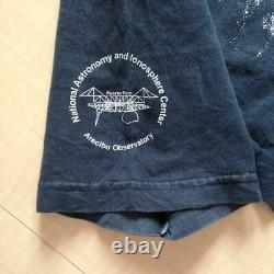 Vintage Tee Shirt Einstein National Astronomy And Ionosphere Center Justine F/s