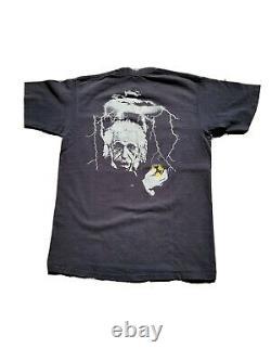 Vtg Vision Streetwear Albert Einstein Single Stitch XL made In Usa