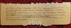 14 Authentic Handwritten Words Par Albert Einstein Gallery Of History Coa