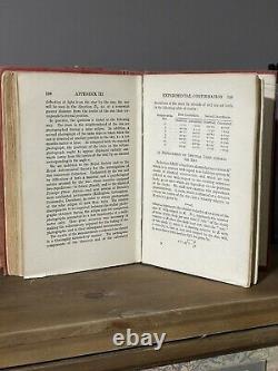 1920 Albert Einstein La Théorie De La Relativité Deuxième Édition Methuen Rare