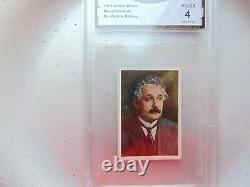 1928 Albert Einstein Gma 4 Rookie Carte Salem Très Bon