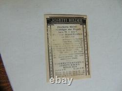1928 Josetti Albert Einstein Carte Rookie