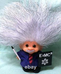 1960 Marqued Dam 3 Troll Salt + Pepper Icelandic Hair Einstein Scientifique