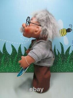 1984 Bubby/einstein/grand-père Zeke Avec Hang Tag 8 Dam Troll Doll