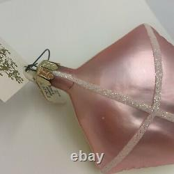 1993 Christopher Radko Einstein Kite Face 8 Ornement En Verre 91-098-1 Avec Étiquette