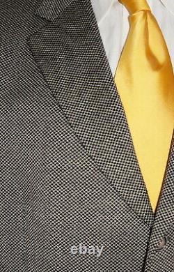 46l Hugo Boss Einstein Blazer Hommes 46 Brown Nailhead Sport Coat Valise