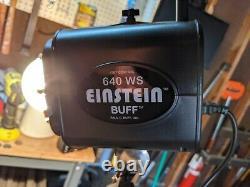 640 Ws Flash Sans Fil Einstein Seulement 689 Flashs! Ensemble Complet De L'état De La Menthe