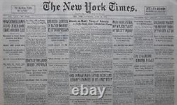 6-1931 13 Juin Capone Accusé. Einstein Relativité. L'earhart. Mt Kemet Escalade