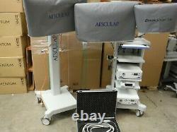 Aesculap Einstein Vision 3d Hd Camera Processor Capture Unité 300w Xenon Light