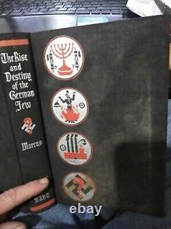 Albert Einstein A Signé Un Livre Sur Le Début De L'ascension Nazie Juif Allemand Marcus Noble