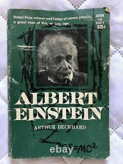 Albert Einstein Book (arthur Beckhard 1959) Pre-owned Vintage Rare Paperback