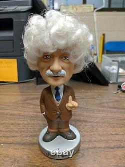 Albert Einstein Wacky Wobblers Funko (retraité) 2003 Bobbleheadpre-owned/no Box
