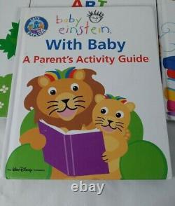 Baby Einstein Permet D'explorer Les Livres De Couverture Dure, Lot De 6 D'occasion + Parent Guide