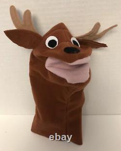 Baby Einstein Reindeer Deer Moose Hand Puppet Equity Marketing Jouet De Vêtements