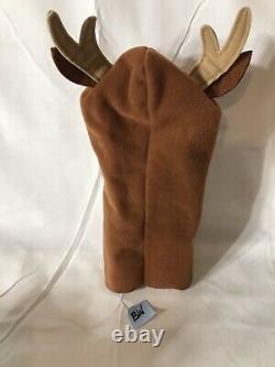 Bébé Einstein Brown Reindeer Hand Puppet Peluche Bébé Santa Rare