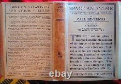 Carl Benedicks L'espace Et La Théorie Temps Du Protégé Einstein 1924 1ère/1ère