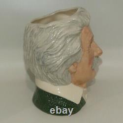 D7023 Royal Doulton Grande Cruche De Caractère Albert Einstein Royaume-uni Fait Mint