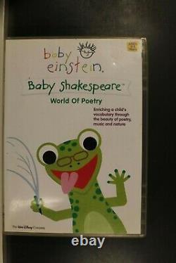 Disney Baby Einstein Baby Shakespeare World Of Poetry- D'avant-propriété (r4) (d423)