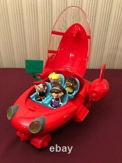 Disney Little Einstein Pat Pat Red Rocket Ship 2006 Lumières Et Sons, Rare