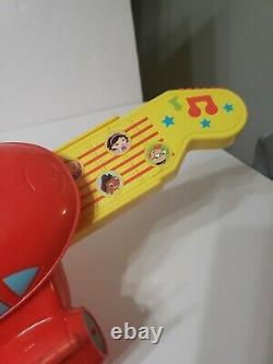 Disney Little Einsteins Pat Pat Red Rocket Ship Guitar Instrument Musique 2008