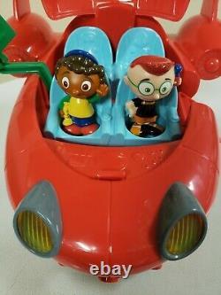 Disney Little Einsteins Pat Pat Rocket Avec Deux Figures Leo Et Quincy Works