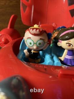 Disney Little Einsteins Pat Pat The Rocket With Lights And Sound 4 Figures 2006