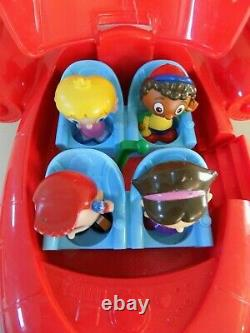 Disney Little Einsteins Red Pat Pat Rocket Avec Lumières Et Son 4 Figures 2006