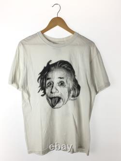 Einstein/90s/t-shirt/m/cotton/blanc/imprimer Vêtements Pour Hommes
