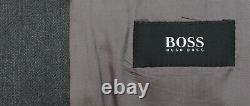 Hommes 42r Hugo Boss Einstein/beta Grey Herringbone 100% Laine Blazer