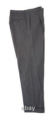 Hugo Boss Anzug Einstein Sigma Gr. 52 Grau Meliert Einreiher 3-knopf -c47