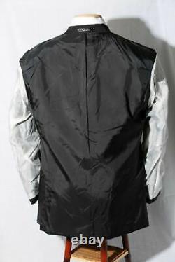 Hugo Boss Einstein / Sigma Black Pinstripe 120s Costume Homme 40s / W34xl28