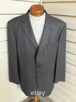 Hugo Boss Einstein Sigma Gray Fit 3-btn Wool Nylon Suit 42 44 Flanelle