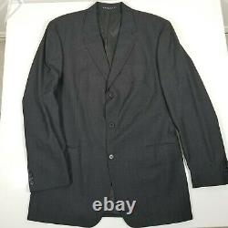 Hugo Boss Einstein / Sigma Hommes 2 Pièces Costume Noir Shimmer Veste 44l Pantalon 35x32