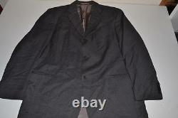 Hugo Boss Einstein Sigma Super 100 Gray 3 Bouton Blazer Costume Homme Taille 42s
