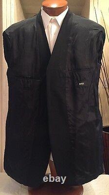 Hugo Boss Hommes Noir Einstein/beta 3 Btn Laine Blazer Sz 46 R Excellent