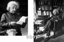 Levi's Albert Einstein LVC 1930's Menlo Cossack Veste En Cuir Noir Taille M