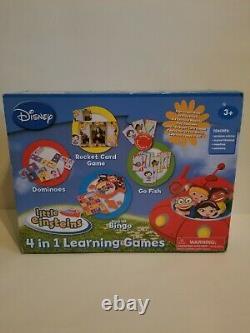Little Einsteins 4 En 1 Jeux D'apprentissage Disney New Open Box