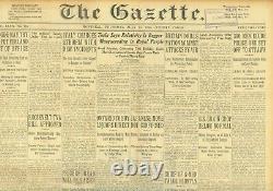 Nikola Tesla Cosmic Rays Disprove Einstein Theory Of Relativity Juillet 11 1935 B37