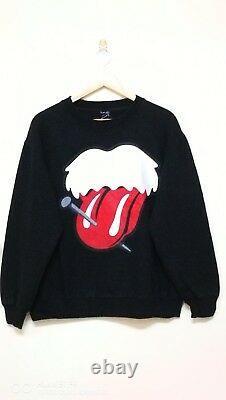 Nombre (n)ine X The Rolling Stones Einstein Made In Japan Sweatshirt Taille 3 / L
