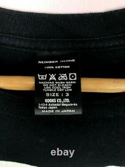 Numéro (n)ine X Téléphones Einstein Takahiro Miyashita T-shirts Nine Punk