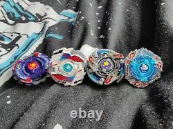 Original Hms Beyblade Lot Wolborg Aero Knight Einstein