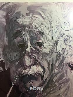 Original Vintage Poster Albert Einstein Feliks Topolski Great Ideas Western Man