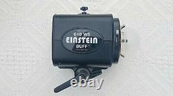 Paul C. Buff E640 Einstein Flash Unit Avec Récepteur, Réflecteur Et Sac De Transport